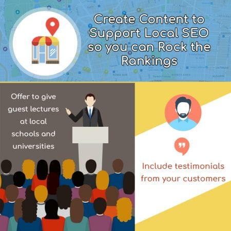 Rock your content rankings with local SEO