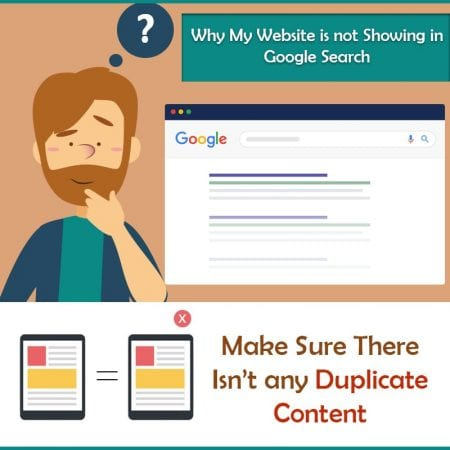Why My Website Is Not Showing In Google Search
