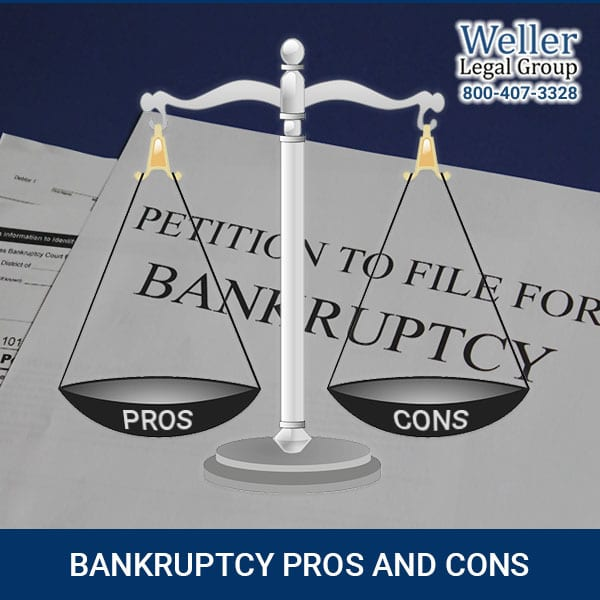 What are the Pros and Cons for filing bankruptcy?