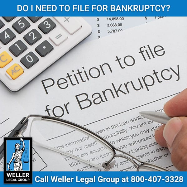 Should I File for Bankruptcy?