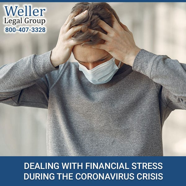 Dealing With Financial Stress During The Coronavirus Crisis