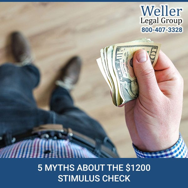 5 Myths About The $1200 Stimulus Check