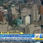 The Bankruptcy of Detroit